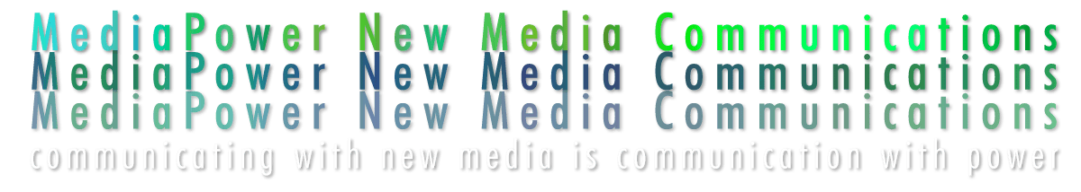 Mediapower New Media Communications header